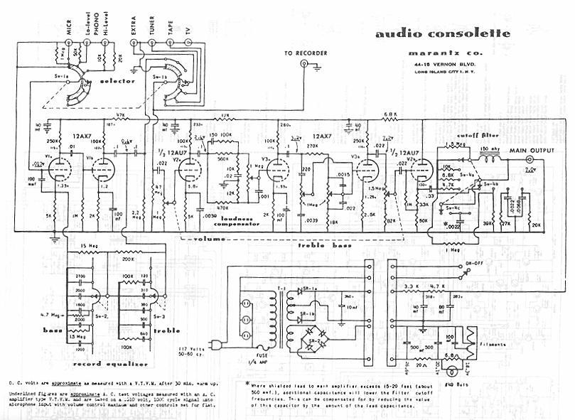 marantz 7 schematic  u2013 the wiring diagram  u2013 readingrat net