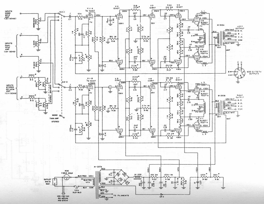 世界線路 Marantz B Schematic on marantz 8b amplifier, fisher x 1000 schematic, mcintosh mc275 schematic, marantz 8b power supply,